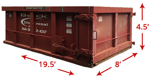 20-Yard Container