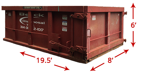30-Yard Container
