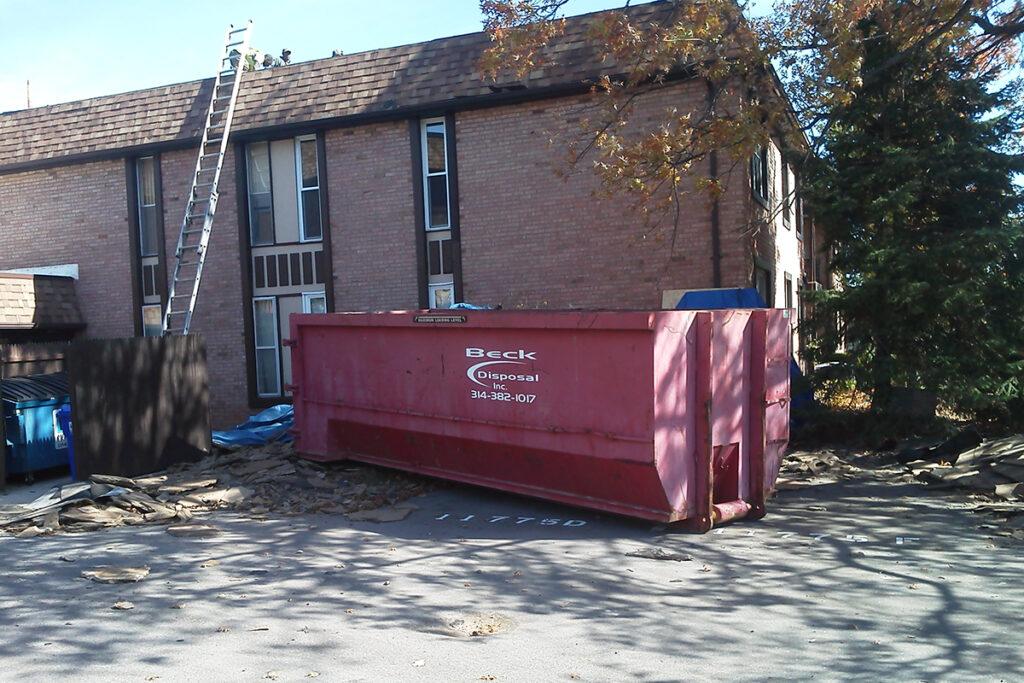 Roofing Trash